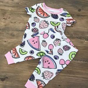 Tropical Fruit Pajamas